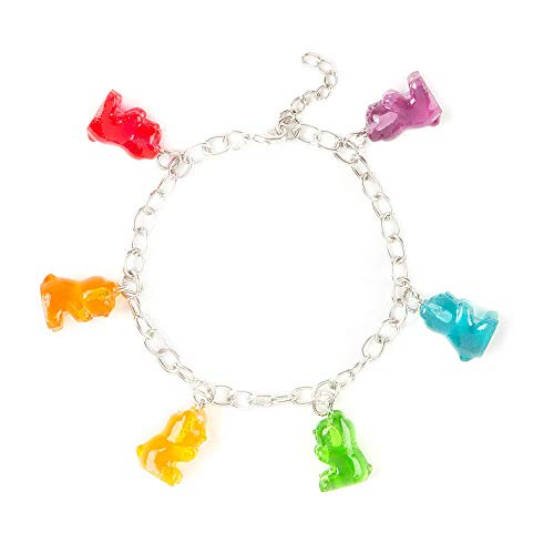 (Claire's Girl's Gummy Bears Charm Bracelet)