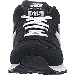 New Balance Women's 515 V1 Sneaker, Black/Prism Purple/Gold Rush, 6 W US