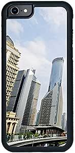 ديكالاك كفر حماية لهاتف ايفون 6 اس بلس، بتصميم مبنى المكاتب كخلفية، متعدد الالوان