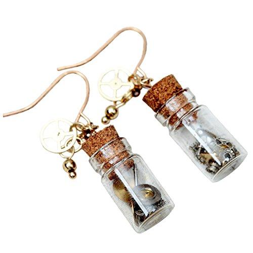 Bottle Earrings - 1