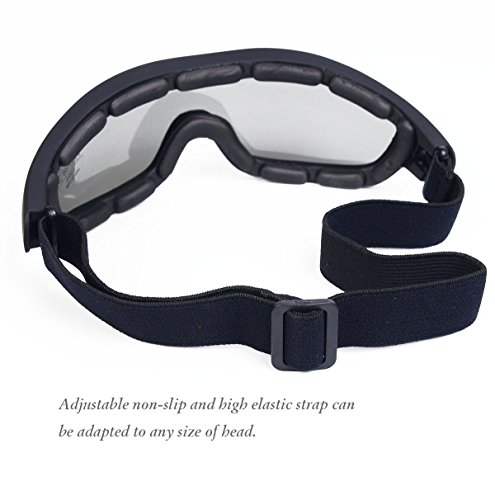 44864906f6 Binboll UV Protective Outdoor Glasses Motorcycle Goggles Dust-proof  Protective Combat Goggles Military Sunglasses Outdoor Tactical Goggles to  Prevent ...
