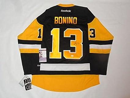 best authentic bc1b7 9d7a3 Nick Bonino Autographed Jersey - 2017 Stanley Cup 2016 Coa ...