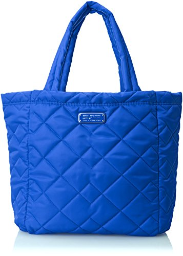 Marc by Marc Jacobs Crosby Quilt Nylon Tote Carry On Bag, Neptune Blue, One Size Marc Jacobs Quilted Bag