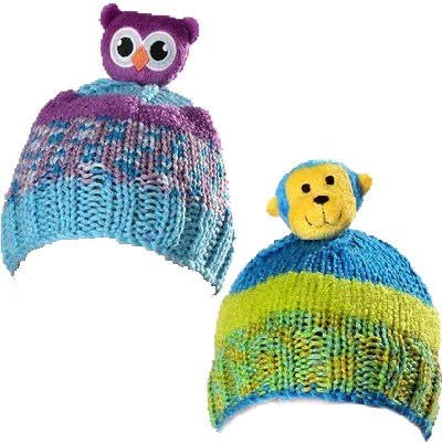 2 Kits Bundle: DMC-Top This! Yarn - Owl and Monkey for $<!--$20.98-->