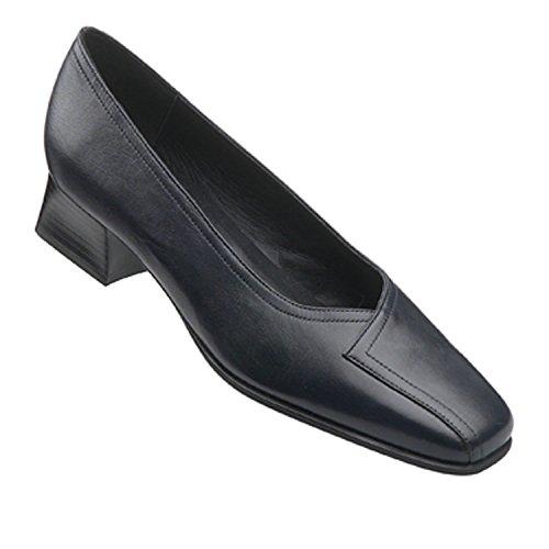 Falkirk Courts Van en III bleu marine cuir Womens Dal Shoes qqpXraAt