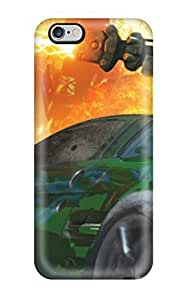 New Arrival Green Car With A Weapo On It NHwmEYf1312tfoAF Case Cover/ 6 Plus Iphone Case