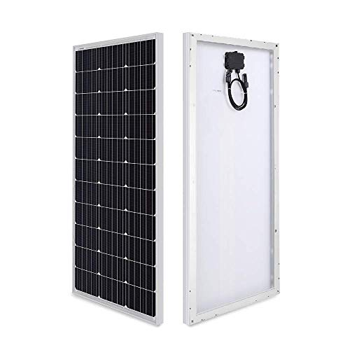 HQST 100W Monocrystalline Solar Panel 200W Compact Design