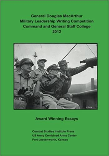 General Douglas MacArthur Military Leadership Writing