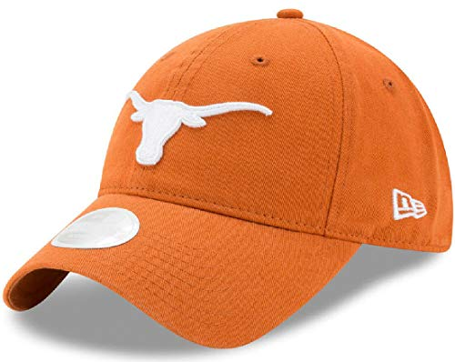 Game Time Womens Texas Longhorns 9Twenty Low Profile Slouch Adjustable Cap ()