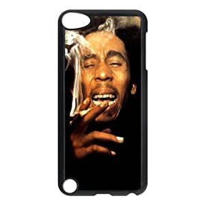 C-EUR Customized Print Bob Marley Pattern Hard Case for iPod Touch 5