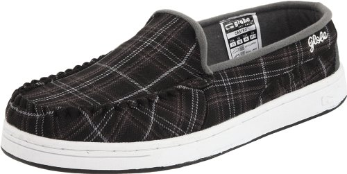 GLOBE Skateboard Shoes CASTRO Black Perforated Size 7
