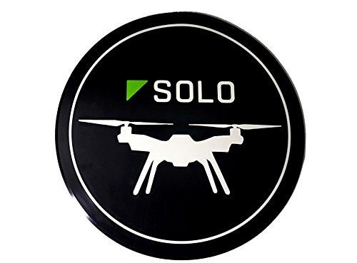 "bestem antena bt-mat-solo 30"" X 1/10.2cm Drone aterrizaje Mat helipuerto (resistente, para 3DR Solo Quadcopter)"