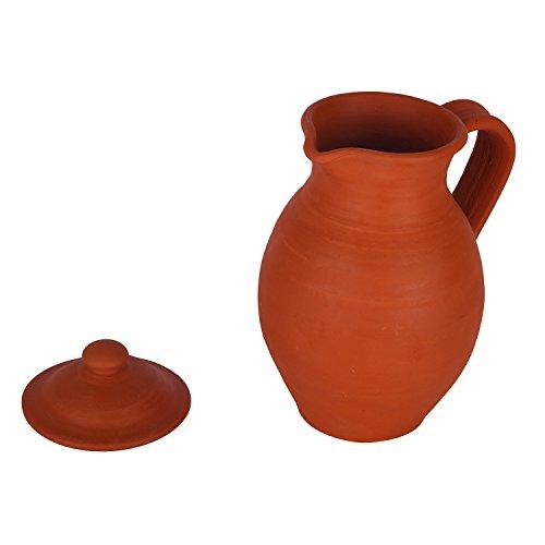Get Village Decor Handmade Terracotta/Clay Classic Water Jug