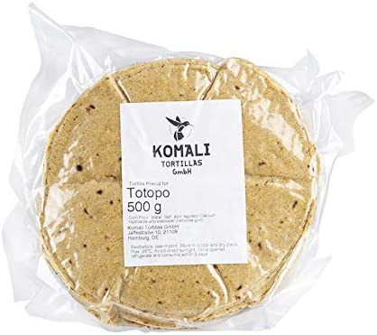 Chips de tortilla de maíz nixtamalizados para freír,