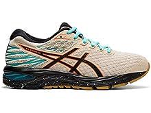 ASICS Women's Gel-Cumulus 21 Winterized Running Shoes, 6M, Putty/Black