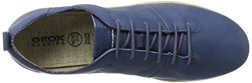 D Mujer New para a DENIMC4008 Azul Geox Zapatillas Do dxRqw4YWOp