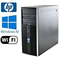 HP 8100 Elite Tower - i5 3.20 GHz, 8GB DDR3, New 250GB Solid State Drive, Windows 10 Pro, WiFi (Prepared by ReCircuit)