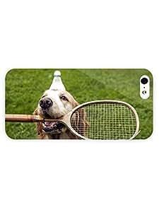 3d Full Wrap Case for iPhone 5/5s Animal Badminton Do