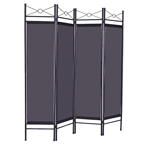 Modern Black Panel Room Divider Screen For Privacy Looks Trendy And Luxury In Home Offices Or - Ca Macy's Ontario