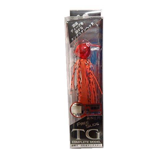 ハヤブサ(Hayabusa) タイラバ 無双真鯛フリースライド TGヘッド コンプリートモデル 75g サンセットオレンジ #9 SE123の商品画像