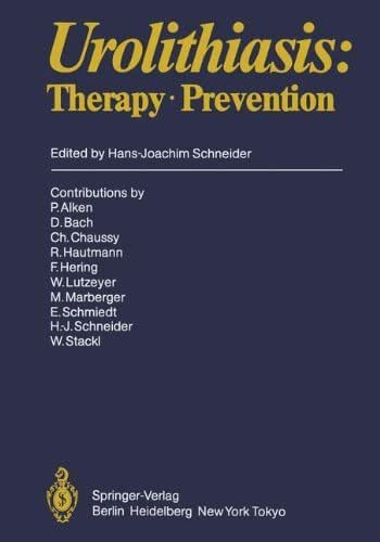 Urolithiasis: Therapy · Prevention (Handbook of Urology)