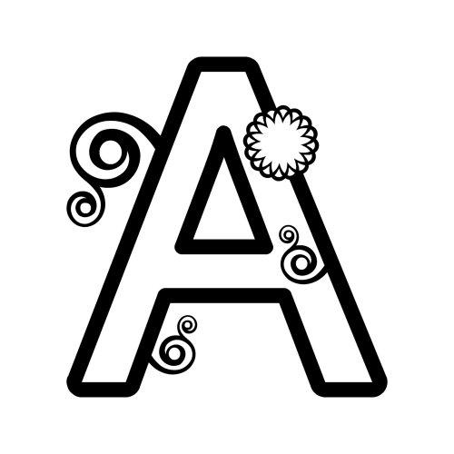 Amazon.com: Alphabet Coloring - Printable Coloring Sheets: Toys ...
