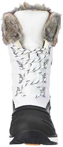 ICEPEAK Winrith, Zapatillas de Deporte Para Exterior Para Mujer Blanco (Optic White)