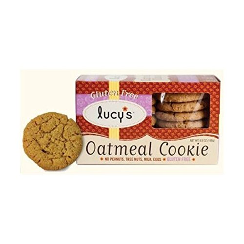 (8 PACK) - Lucy's Gluten Free Oatmeal Cookies| 156 g |8 PACK - SUPER SAVER - SAVE MONEY