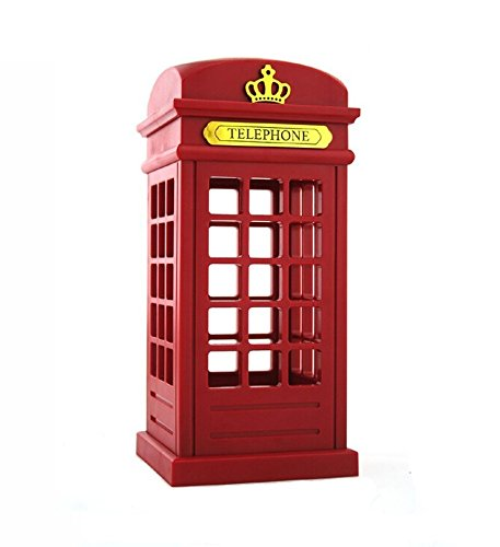 - Emperor of Gadgets Vintage London Telephone Booth Style LED Night Light with Touch Sensor