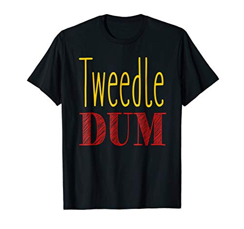 Tweedle Dum T-Shirt Halloween Costume Tee -