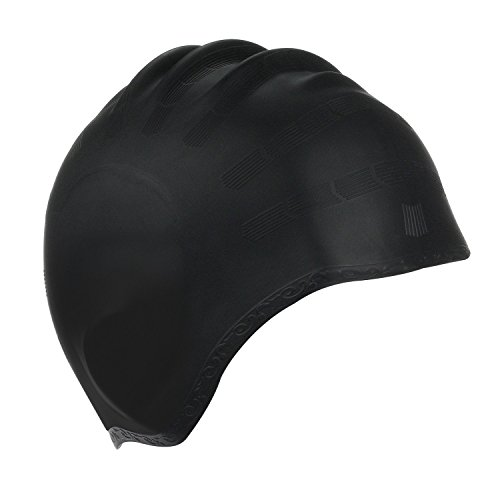 Kinsports Silicone Organic Anti-Allergy Elasticity Durable Swimming Cap, Does Not Pull Hair,...