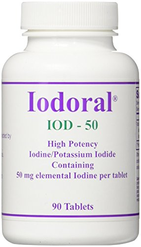 OPTIMOX Corporation Iodoral IOD 50 Count