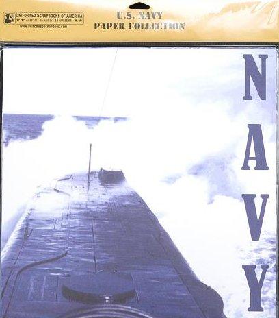 Military Scrapbook Kit (U.S. Navy Paper Pack)