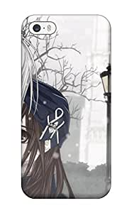 Waterdrop Snap-on Young Anime Hugging Case For Iphone 5/5s