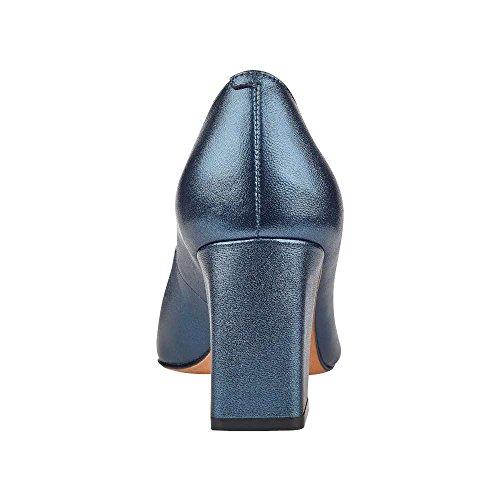 Zala De Zen Pointu Orteil Des Pompes Classiques, Bleu, Taille 9.0