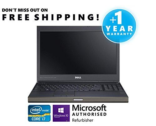 Dell Precision M4700 Intel Quad Core i7 Processor 32GB RAM 1TB 7200rpm Hard Drive 15.6 1920x1080 Full HD LED Screen nVidia Quadro with 2GB Dedicated Memory Video Card DVDRW Windows 7 Professional