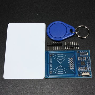 - Board & Shield Other Module Board - 3.3V RC522 Chip IC Card Induction Module Reader 13.56MHz 10Mbit/s -1 x RFID-RC522 Module 1 x The Standard S50 Blank Card (No