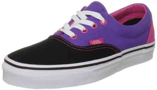 Vans Era - Zapatillas de skate unisex Negro (Schwarz ((Tri-Tone) Black/Purple/Pink))
