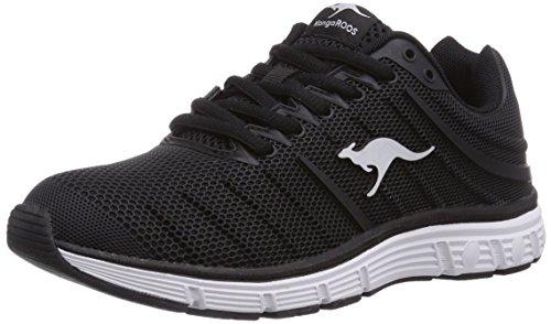 KangaROOS K-Tech 8007 - zapatilla deportiva de material sintético unisex Negro  Schwarz (Black 500)