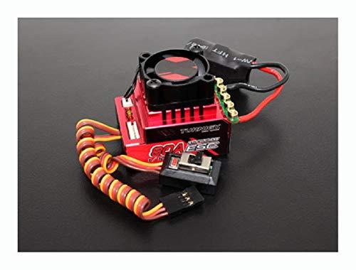 HomyDelight ESC, Turnigy Trackstar 80A Turbo Sensored Brushless 1/12th 1/10th ESC (Roar Approved)