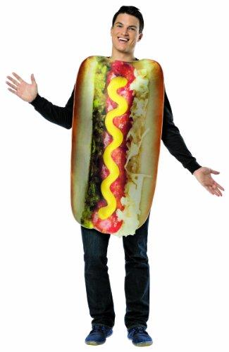 mens hot dog costume - 9