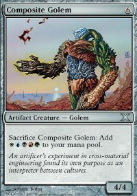 Magic: the Gathering - Composite Golem (318/383) - Tenth Edition
