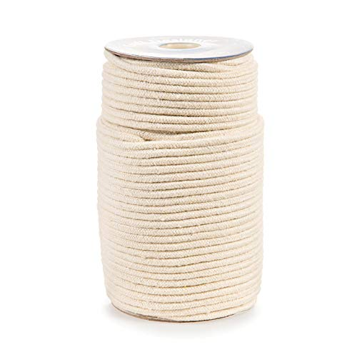 Bulk Buy: Darice DIY Crafts Macrame Cord Natural Cotton 32ply 3mm (3-Pack) 1971-15