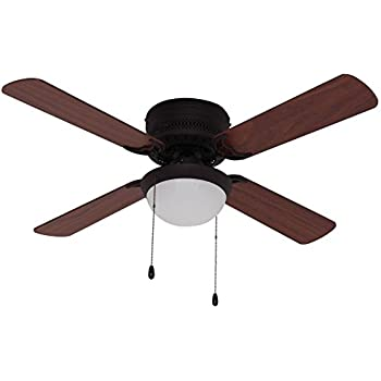 hugger ceiling fan light kit oil rubbed bronze hunter fans with remote altus reviews 52
