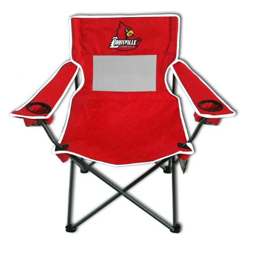Folding Mesh Chair Monster - Rivalry NCAA Louisville Cardinals Monster Mesh Folding Chair