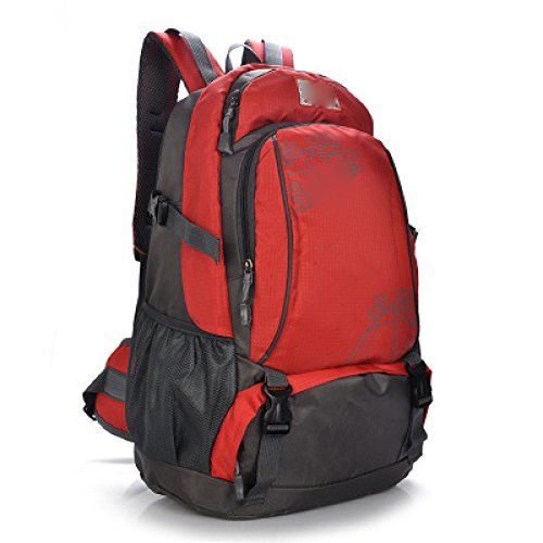 Sports Men Bag Hmwwmh 40l Backpack Red Outdoor Travel Shoulder Mountaineering blue Fashion Large And Capacity Outdoor Women XXHFpO