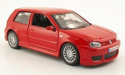 VW Golf IV R32, red, 2006, Model Car, Ready-made, Maisto - R32 Vw Model