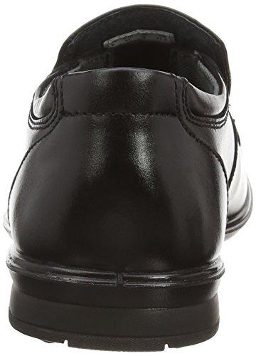 Hush Puppies Theo Gravity Iiv - Zapatos sin cordones de otra piel hombre Negro - negro