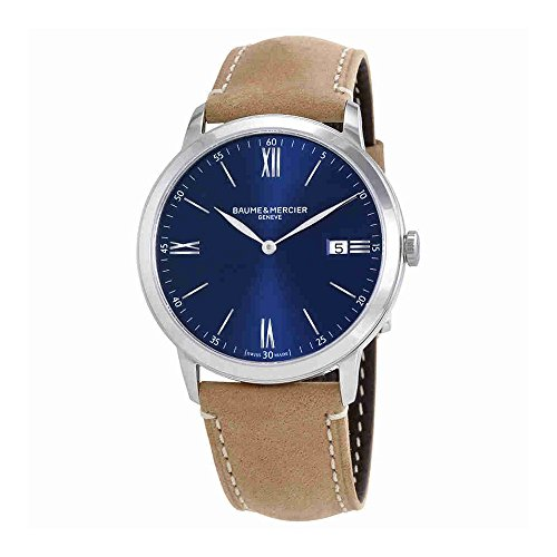 Baume-et-Mercier-Classima-Blue-Dial-Mens-Watch-10385