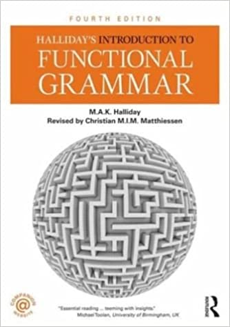 Book Halliday's Introduction to Functional Grammar